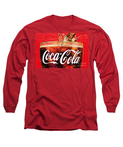 Coca Cola Long Sleeve T-Shirt by Luciano Mortula