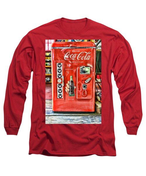 Coca-cola Retro Style Long Sleeve T-Shirt