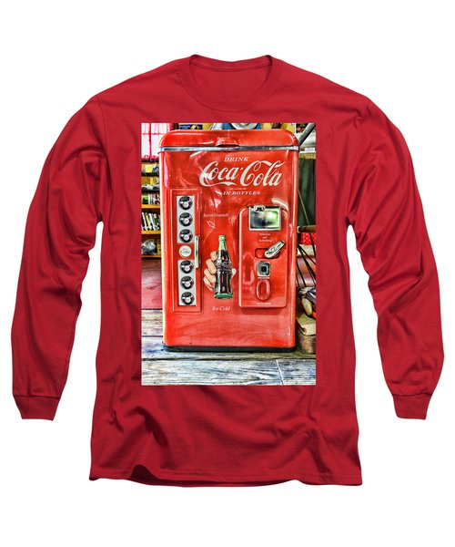 Coca-cola Retro Style Long Sleeve T-Shirt