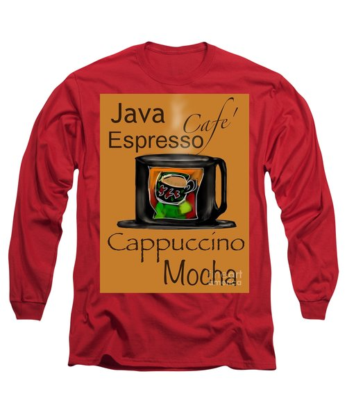 Coffee Break Long Sleeve T-Shirt