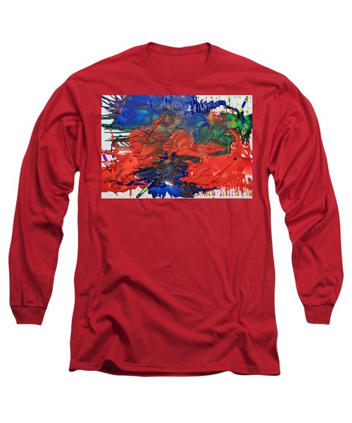 Coloring Book Long Sleeve T-Shirt