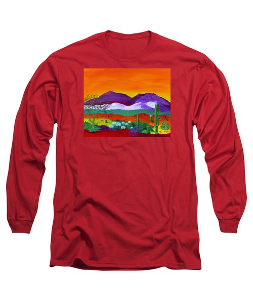 Colour Explosion Long Sleeve T-Shirt