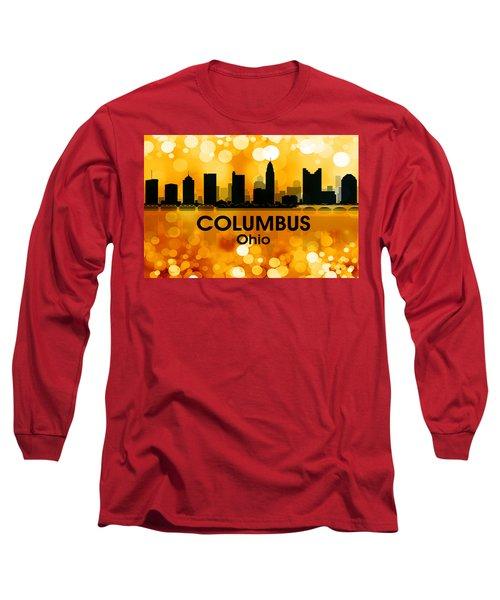 Columbus Oh 3 Long Sleeve T-Shirt