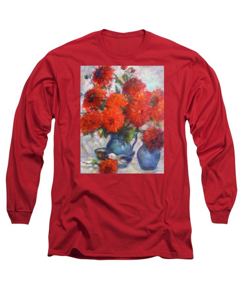 Complementary - Original Impressionist Painting - Still-life - Vibrant - Contemporary Long Sleeve T-Shirt