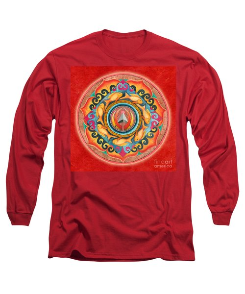 Continuing Mandala Long Sleeve T-Shirt