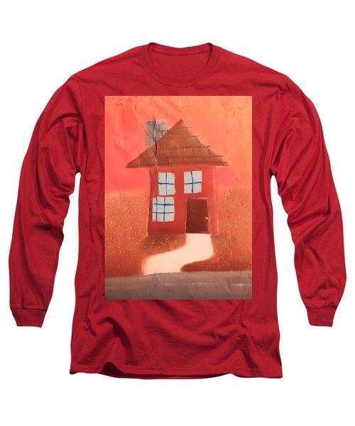 Cottage Long Sleeve T-Shirt by Joshua Maddison