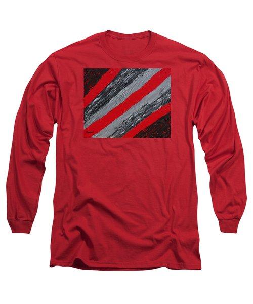 Cozy Afghan Long Sleeve T-Shirt by Donna  Manaraze