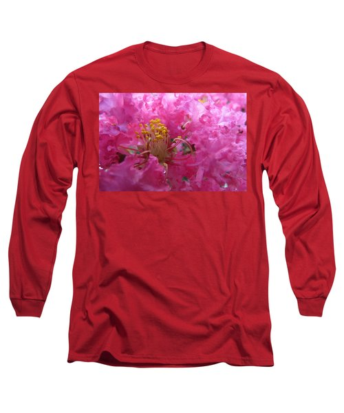 Crepe Myrtle In The Middle Long Sleeve T-Shirt