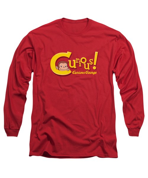 Curious George - Curious Long Sleeve T-Shirt by Brand A