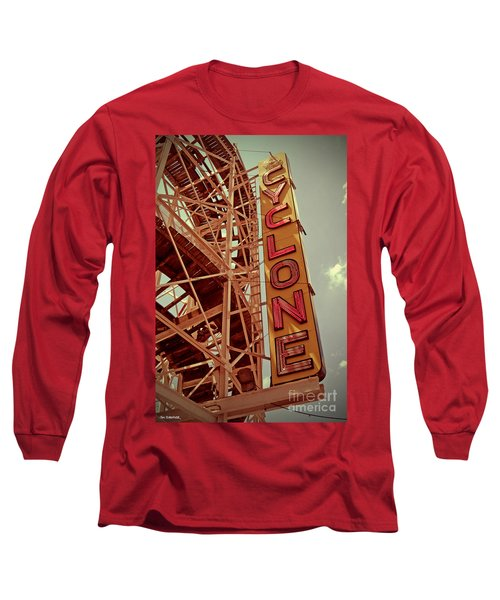 Cyclone Roller Coaster - Coney Island Long Sleeve T-Shirt