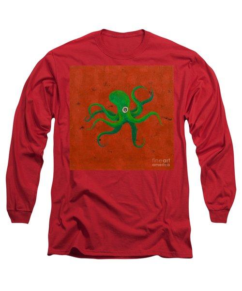 Cycloptopus Red Long Sleeve T-Shirt