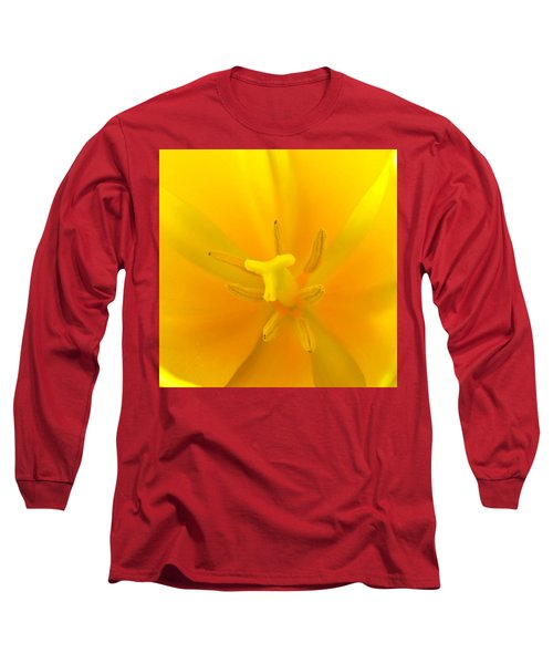 Daffodil Center Long Sleeve T-Shirt