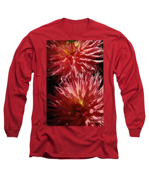 Long Sleeve T-Shirt featuring the photograph Dahlia Vi by Christiane Hellner-OBrien