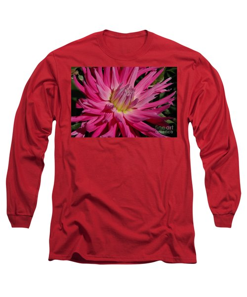 Long Sleeve T-Shirt featuring the photograph Dahlia X by Christiane Hellner-OBrien