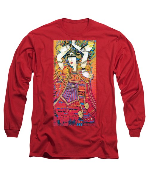 Dancer With Doves Long Sleeve T-Shirt