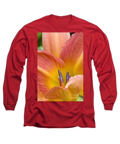 Day Lily  3 Long Sleeve T-Shirt