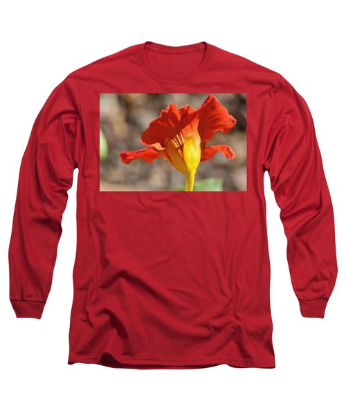 Long Sleeve T-Shirt featuring the photograph Day Time by Larry Bishop