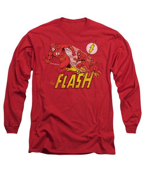 Dc - Crimson Comet Long Sleeve T-Shirt