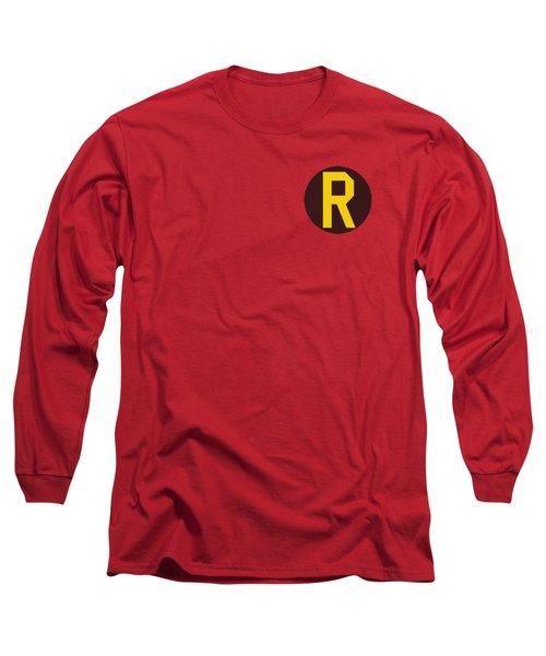 Dc - Robin Logo Long Sleeve T-Shirt by Brand A