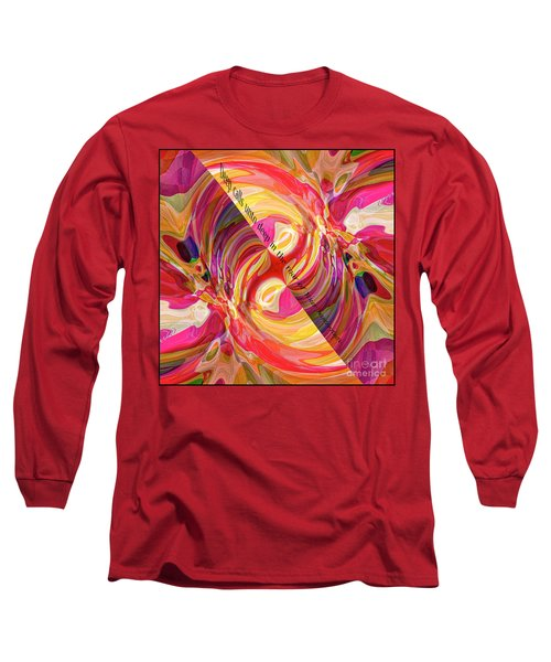 Deep Calls Unto Deep Long Sleeve T-Shirt by Margie Chapman