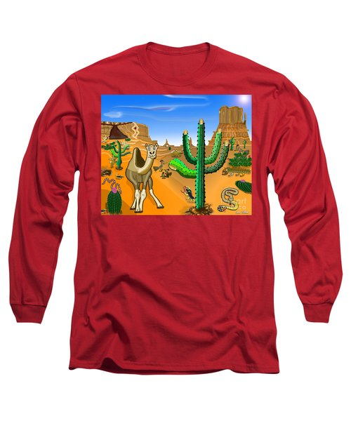 Desert Hands Long Sleeve T-Shirt