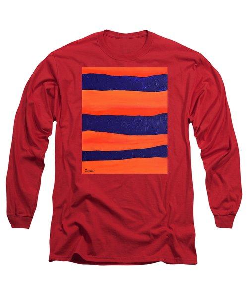 Desert Streams Long Sleeve T-Shirt by Donna  Manaraze