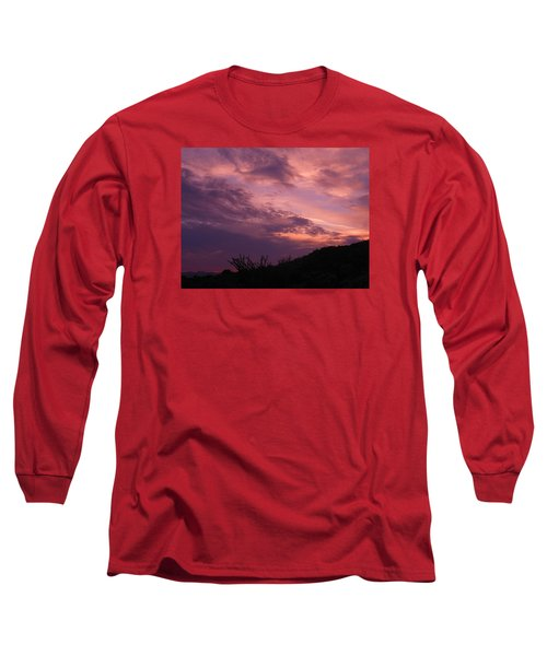 Desert Sunset Long Sleeve T-Shirt
