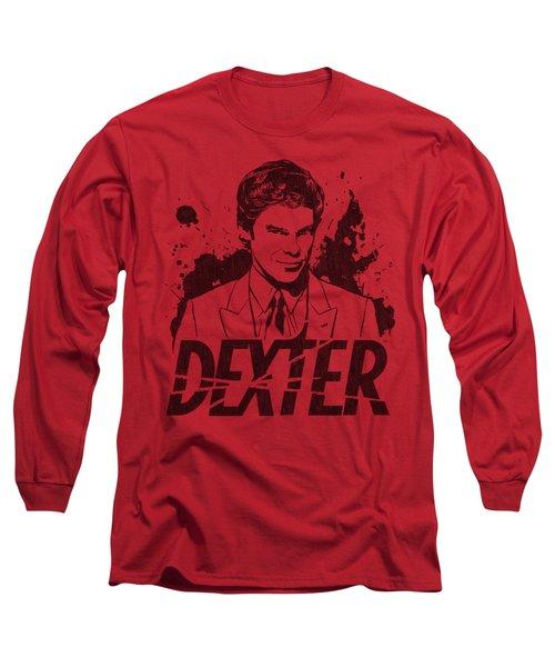 Dexter - Splatter Dex Long Sleeve T-Shirt