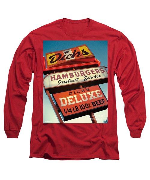 Dick's Hamburgers Long Sleeve T-Shirt