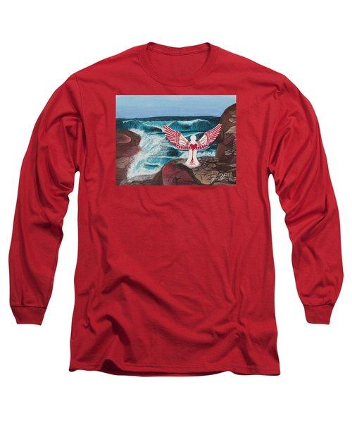 Divine Power Long Sleeve T-Shirt by Cheryl Bailey