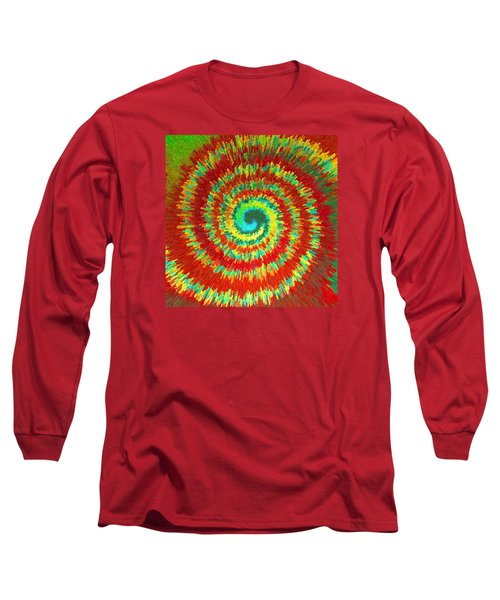 Double Spiral  C2014 Long Sleeve T-Shirt by Paul Ashby