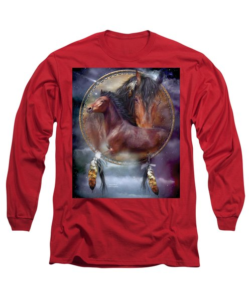 Dream Catcher - Spirit Horse Long Sleeve T-Shirt