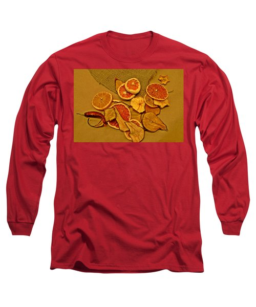 Dried Fruit Long Sleeve T-Shirt by Brian Chase
