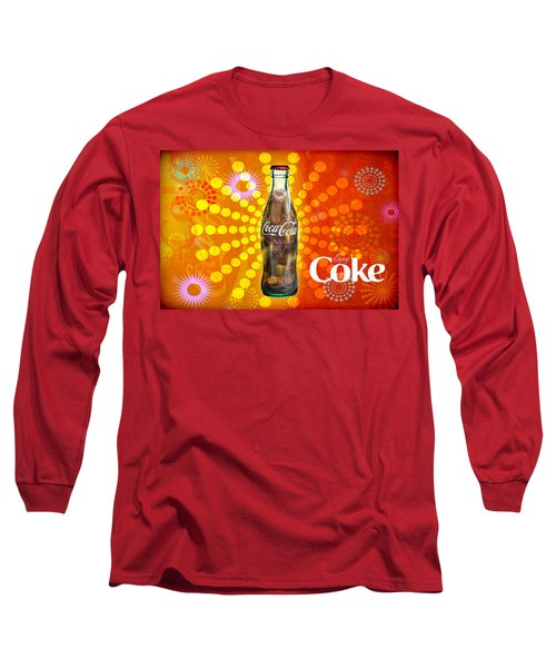 Drink Ice Cold Coke 4 Long Sleeve T-Shirt