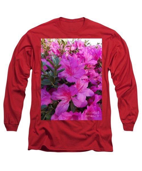 Easter Azaelas Long Sleeve T-Shirt