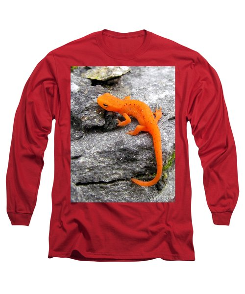 Orange Julius The Eastern Newt Long Sleeve T-Shirt