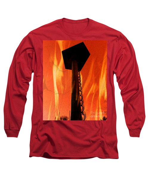 Long Sleeve T-Shirt featuring the photograph Elastic Concrete Part Two by Sir Josef - Social Critic - ART