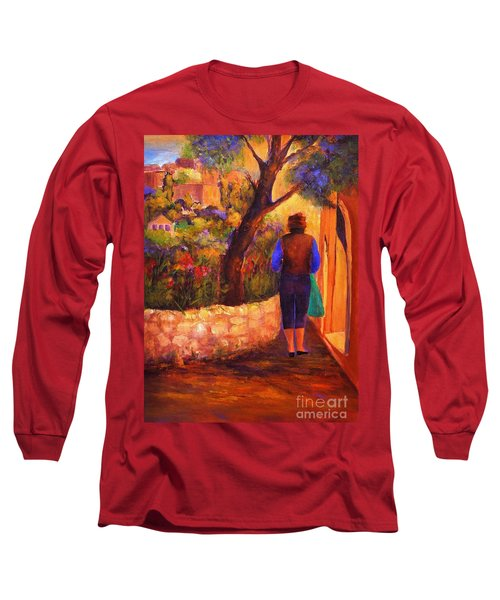 End Of The Day Long Sleeve T-Shirt by Glory Wood