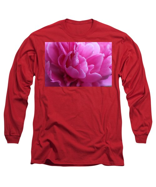 End Of The World Pink Long Sleeve T-Shirt