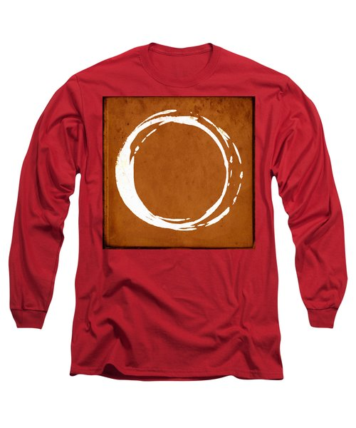 Enso No. 107 Orange Long Sleeve T-Shirt