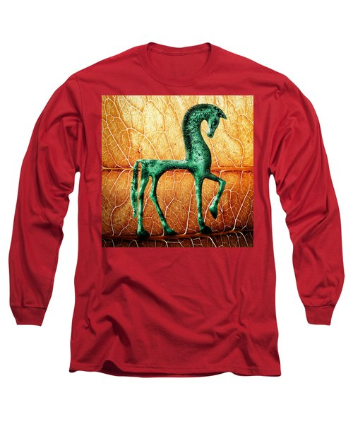 Etruscan Horse Long Sleeve T-Shirt