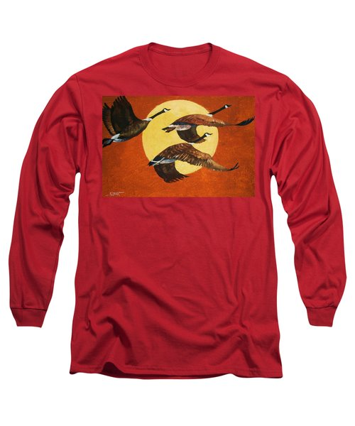 Soaring Migration Long Sleeve T-Shirt