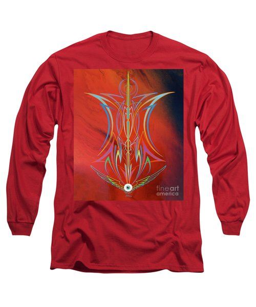 Eye Flying Long Sleeve T-Shirt