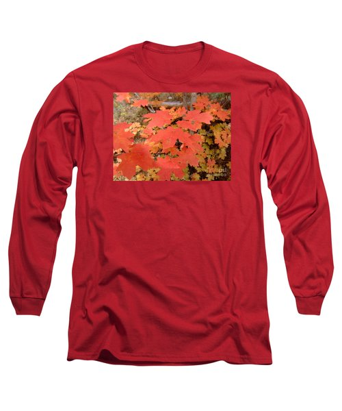 Fall Colors 6308 Long Sleeve T-Shirt by En-Chuen Soo