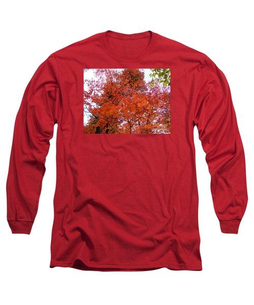 Fall Colors 6359 Long Sleeve T-Shirt by En-Chuen Soo