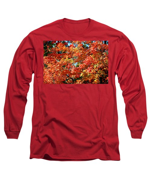 Fall Foliage Colors 22 Long Sleeve T-Shirt
