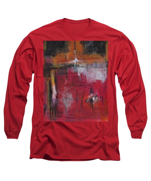 Long Sleeve T-Shirt featuring the painting Fall by Nicole Nadeau