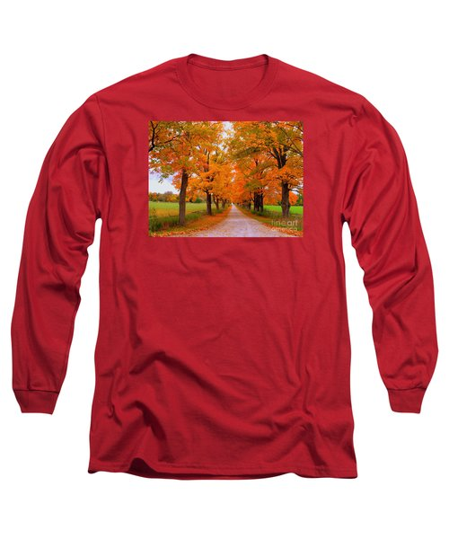 Falling For Romance Long Sleeve T-Shirt