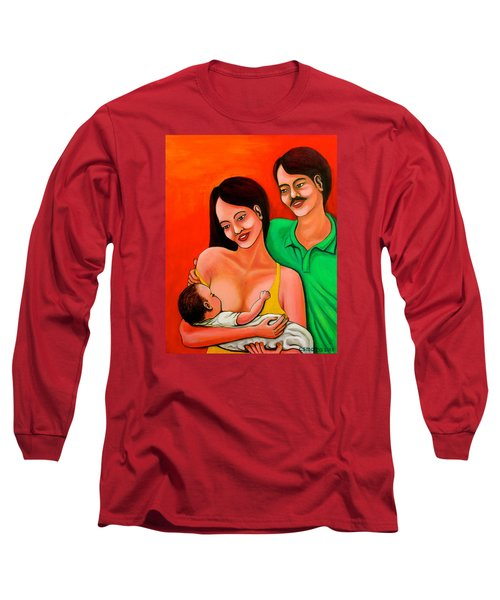 Family Long Sleeve T-Shirt by Cyril Maza
