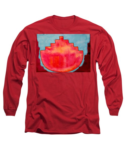 Fat Sunrise Original Painting Long Sleeve T-Shirt